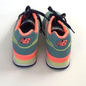 New Balance Aqua Orange Elite Edition 574 Size 8.5